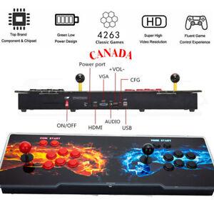 New 4263 Games in 1 Retro Pandora's Box 20s Arcade Home Double Stick Console HD