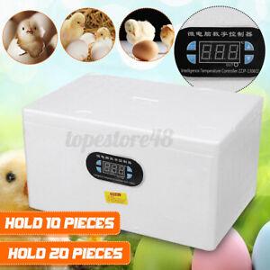 Automatic Digital 20 Egg Incubator Chicken Duck Temperature Control Incubators