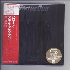 Statut Quo Hello! Deluxe 2 CD SET 2 Covers Japon MINI LP CD SHM UICY - 77629/30