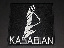 PUNK ROCK METAL MUSIC SEW/IRON ON PATCH:- KASABIAN (a) TWISTED CLUBFOOT