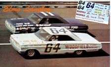 CD_953 #64 Elmo Langley  1963-64 Ford    1:64 scale decals   ~SALE~