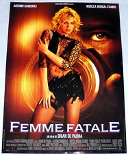 Femme Fatale Rebecca Romijn-Stamos De Palma Cannes Banderas Small French Poster