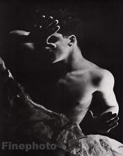 1936/81 Vintage GEORGE PLATT LYNES Semi Nude Male Photo Duotone Fine Art 16x20