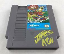 Nintendo (NES) The Simpsons VS. The Space Mutants AVGN James Rolfe Yellow Autogr