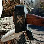 WOOX Forte-X Hewing Axe Head 1060HC Steel Full Tang Blade Hickory Handle A00302