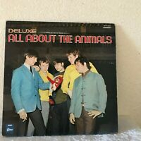 ANIMALS ALL ABOUT THE ANIMALS Japan RED Vinyl LP OP8394 RARE!! EMI Odeon