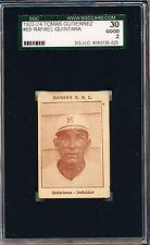 1923-24 Tomas Gutierrez Rafael Quintana SGC 30 = PSA 2 Negro League card!