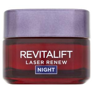 L'Oreal Revitalift Laser Renew Night Cream Mask 50ml Moisturiser
