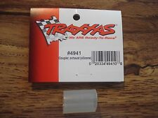 NEW TRAXXAS 4941 SILICONE EXHAUST COUPLER t-maxx savage FREE SHIPPING