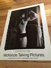 Arnold Schwarzenegger McKenzie Talking Pictures,Poster