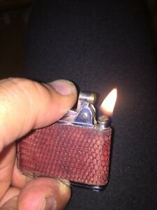Vintage Ronson Adonis Petrol Lighter. Serviced And Working