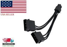 EVGA Video Graphic Card Molex 6 Pin Power Adaptor 843368022686 PC Connector Part