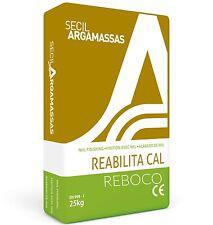 Secil Rebocco 25kg Lime Plaster / Render With Fibres - Breathable
