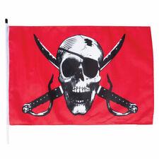 New listing Crimson Skull Whip-It Flag With 6' Pole Atv Utv 3'x5' Dune Flag 6' Dune Pole