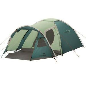 Easy Camp Tent Eclipse 300 Teal Green - 3 Person Tent with Porch