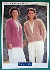 00e7eda962444 Hayfield 4288 - KNITTING PATTERN - WOMENS MOHAIR   NEXT ADDITION ...