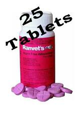 Ranvet's All wormer Tablets For Up To 10 kg Dogs 25 Tablets Canine Allwormer