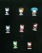 Hello Kitty Upper Deck World Adventure Collectipak Miniature Figure set (8)