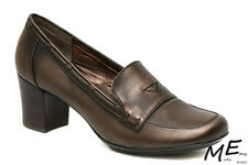 New Sofft Marisol Women Mary Jane Leather Shoes Heels Size 10