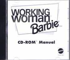 Barbie Working Woman (Mac/PC, 1999, Mattel)