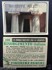 figurines cromos picture cards figurine risorgimento italiano 239 panini 1975 br