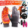 Motorcycle Bike Touch phone Screen Warm Gloves Thermal Mitts Skiing Climbing Ski
