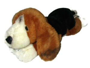 "Toys R Us Basset Hound Dog Plush Animal Alley 2000 14"" Stuffed Puppy Soft Toy"