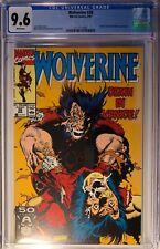 WOLVERINE #38 (1991) CGC 9.6 NM+ STORM, ELSIE-DEE& ALBERT APPEARANCE WP Marvel