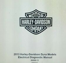 2013 Harley Davidson DYNA MODELS Electrical Diagnostic Manual PDF CD