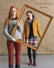 CEY Classic Elite Yarns Knitting Pattern Book 1311 Portraits 11 Designs / Women