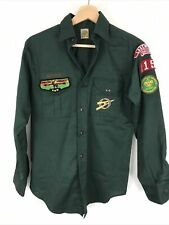 New listing Venturing Bsa Uniform Shirt Ss Green Large Boys Scouts Of America Adult Small S