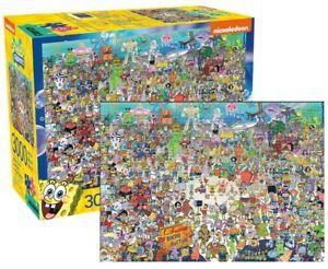 Spongebob Squarepants 3000 Piece Jigsaw Puzzle NEW Adult Kids Games