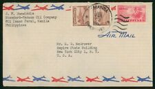 MayfairStamps Philippines 1963 Manila to New York New York Air Mail Cover wwr570