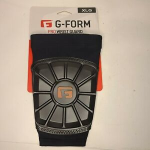 G-Form Pro Baseball Wrist Guard - Flexible Lightweight Washable - X-Large - BLK