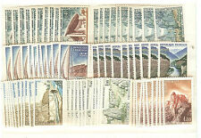 YVERT N° 1435 à 41 x 10 PAYSAGES TIMBRES FRANCE NEUFS **