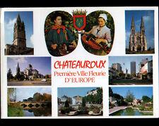 CHATEAUROUX (36) Couple de Musiciens costumés jouant de la VIELLE en 1990