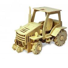 ROBOTIME - Tracteur radio commandé en bois 120 pièces à assembler  KIT EN BOIS