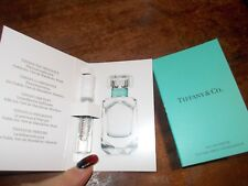 2x TIFFANY & CO. for Women Perfume 0.04oz / 1.2ml EDP Spray Mini Vial NEW
