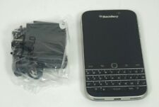 Very Good Used Black Blackberry Classic SQC100-2 16GB AT&T Cricket Cell Phone
