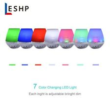 LESHP DS-7601  Portable Rechargeable Speaker with LED Light Show