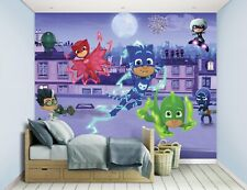 Walltastic Photo Wallpaper PJ Masks New Wall Mural Sheet Covering