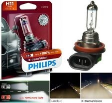 Philips X-Treme Vision H11 55W One Bulb Head light Low Beam Replacement DOT Lamp