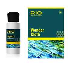 NEW RIO AGENTX LINE CLEANING KIT fly fishing conditioner cleaner rejuvenate