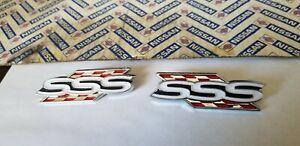 datsun 510 bluebird 1600 , SSS side pilar vents emblems new R&L