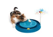 Play and Scratch Biene - unwiderstehliche Katzenspielzeug - Blau - Massage
