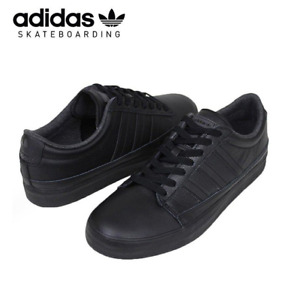 New Adidas Men's Trainers/ Adidas RAYADO/black leather/skateboarding shoes