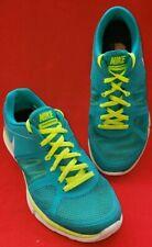 Nike Flex 2014 Run Women's Running Shoe Sz. 7.5M Green and Neon 632767-300