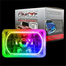 "ORACLE 4""x6"" Sealed Beam Single Headlight +ORACLE Pre-Installed ColorSHIFT Halo"