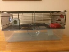 2-level Dwarf Hamster Cage, Accessories Included (Excellent Condition)