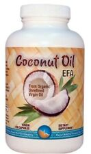 COCONUT OIL Essential Fatty Acids & Amino Acids Hawaii Nutrition Co 120 Softgels